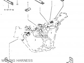 Suzuki Tc125 1977 (b) Usa (e03) parts list partsmanual