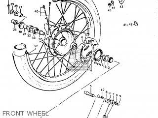 Suzuki TC185 1974 (L) USA (E03) parts lists and schematics