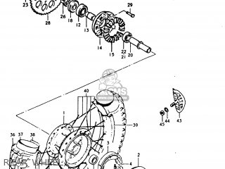 Suzuki TC185 1974 (L) USA (E03) parts lists and schematics