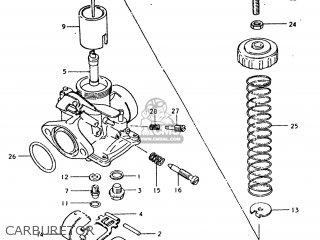 Suzuki TC185 1976 (A) USA (E03) parts lists and schematics