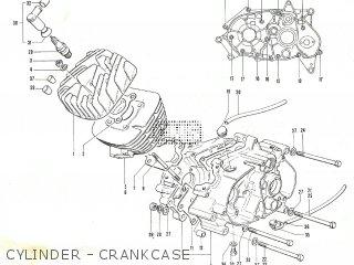 Suzuki TC90 parts lists and schematics