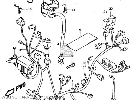 Suzuki Tl1000 1997 (sv) parts list partsmanual partsfiche