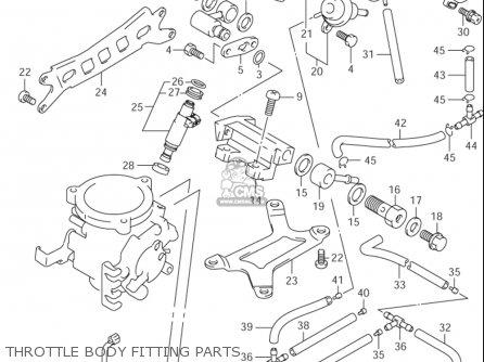 Suzuki Tl1000 R 1998-2003 (usa) parts list partsmanual