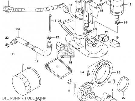 Suzuki Tl1000 S 1997-2001 (usa) parts list partsmanual