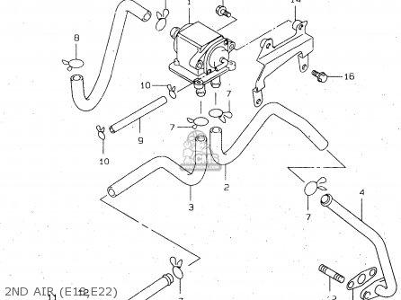 Suzuki Tl1000r 1998 (w) (e02 E04 E18 E22 E24 E25 E34