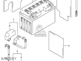 Suzuki Tl1000r 1998 (w) Usa (e03) parts list partsmanual