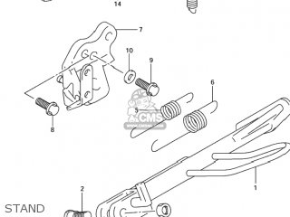Suzuki TL1000R 1998 (W) USA (E03) parts lists and schematics