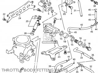 Suzuki TL1000R 1998 (W) USA (E03) parts lists and schematics
