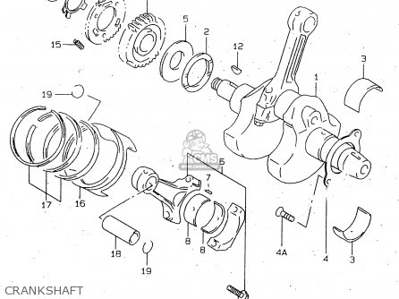 Suzuki Tl1000r 1999 (x) parts list partsmanual partsfiche
