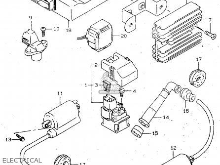 Wiring Diagram Suzuki Gladius Suzuki 185 ATV Wiring Wiring