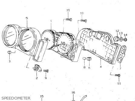 Suzuki TL1000R 2000 (Y) parts lists and schematics