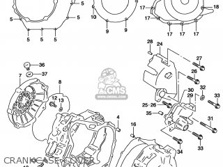 Suzuki Tl1000s 1997 (v) Usa (e03) parts list partsmanual