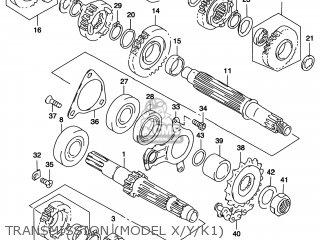 Suzuki TL1000S 1997 (V) USA (E03) parts lists and schematics