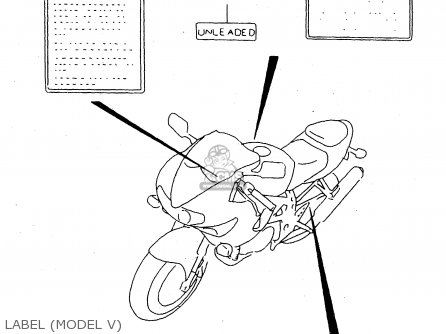 Suzuki TL1000S 1998 (W) (E02 E04 E18 E22 E24 E25 E34