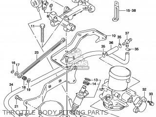 Suzuki TL1000S 1998 (W) USA (E03) parts lists and schematics