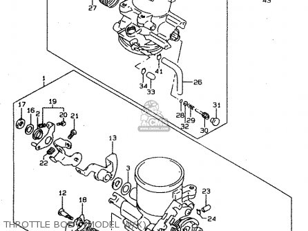 Suzuki TL1000S 2000 (Y) parts lists and schematics