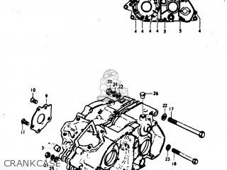 Suzuki Tm100 1974 (l) Usa (e03) parts list partsmanual