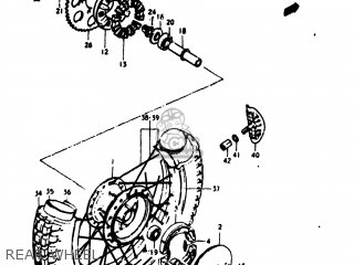 Suzuki TM125 1973 (K) USA (E03) parts lists and schematics