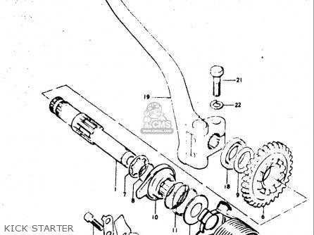 Suzuki TM400 1971 1972 1973 1974 1975 (R) (J) (K) (L) (M