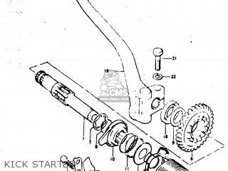 Suzuki TM400 1974 (L) USA (E03) parts lists and schematics