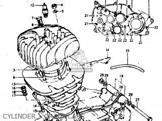 Suzuki Tm400 1975 (m) Usa (e03) parts list partsmanual