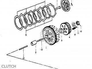 Suzuki Tm75 1974 (l) Usa (e03) parts list partsmanual