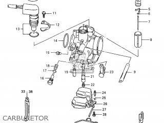Suzuki Tr50 1998 (sw) parts list partsmanual partsfiche