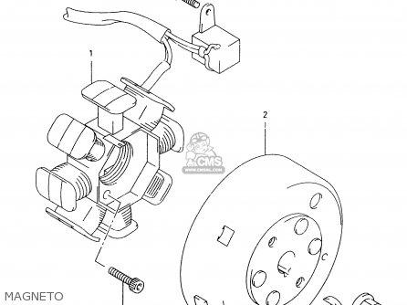 Suzuki Tr50 1999 (sx) parts list partsmanual partsfiche