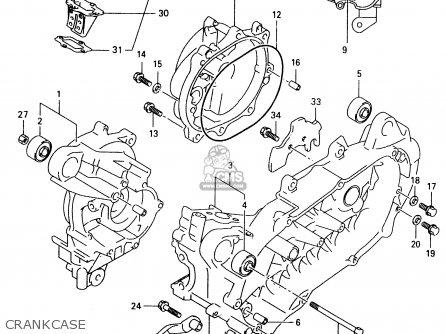 Suzuki TR50S 1998 (W) (E02 E04 E22 E26 E34 E53) parts