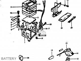 Suzuki Ts100 1973 (k) Usa (e03) parts list partsmanual