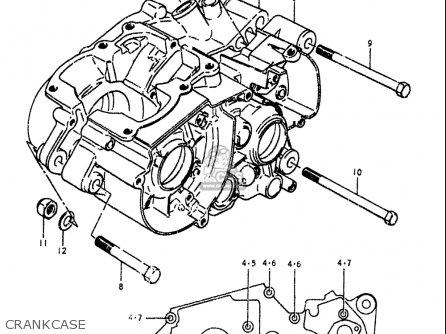 Suzuki Ts100 1978-1979 (usa) parts list partsmanual partsfiche