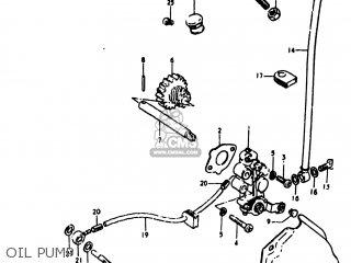 Suzuki Ts100 1978 (c) Usa (e03) parts list partsmanual