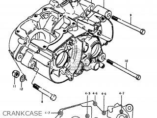 Suzuki TS100 1979 (N) USA (E03) parts lists and schematics