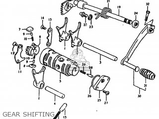 Suzuki TS100 1980 (T) USA (E03) parts lists and schematics