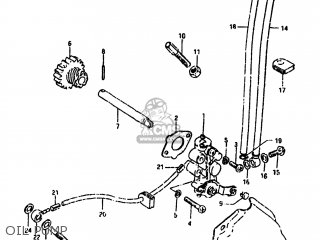 Suzuki Ts100 1981 (x) Usa (e03) parts list partsmanual