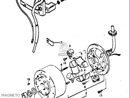 Suzuki TS125 1971 1972 (R) (J) USA (E03) parts lists and