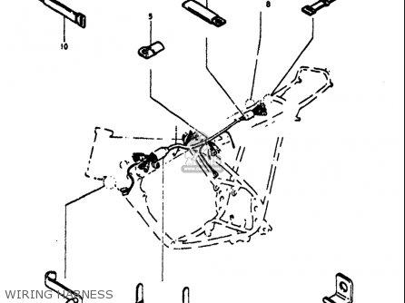 Suzuki Ts125 1971-1972 (usa) parts list partsmanual partsfiche