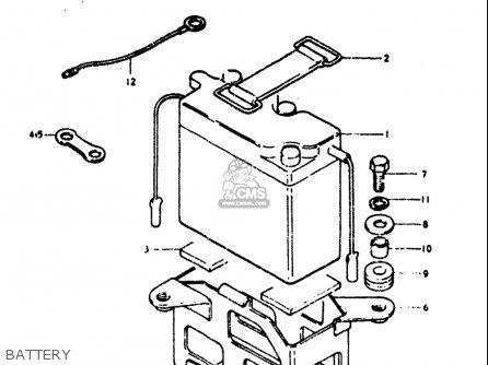 Suzuki Ts125 1973-1977 (usa) parts list partsmanual partsfiche