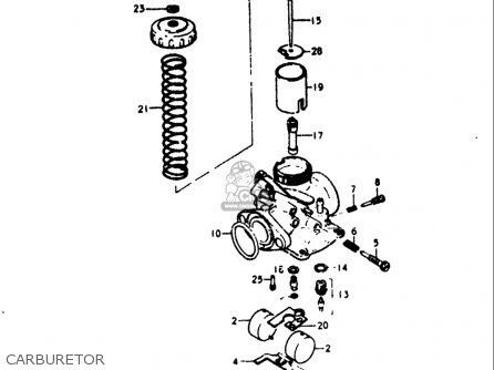 Suzuki Ts125 1973-1977 (usa) parts list partsmanual partsfiche