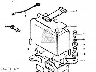 Suzuki Ts125 1974 (l) Usa (e03) parts list partsmanual