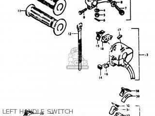 Suzuki TS125 1974 (L) USA (E03) parts lists and schematics
