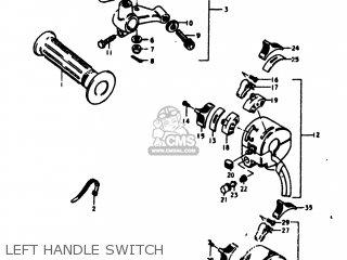 Suzuki TS125 1978 (C) USA (E03) parts lists and schematics