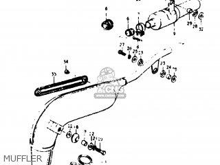 Suzuki Ts125 1978 (c) Usa (e03) parts list partsmanual