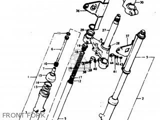 Suzuki TS125 1979 (N) USA (E03) parts lists and schematics