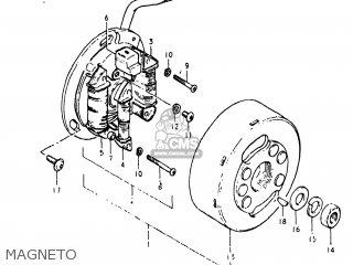Suzuki TS125 1981 (X) USA (E03) parts lists and schematics