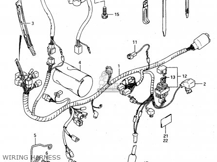 Suzuki Ts125 Wiring Diagram. Suzuki. Wiring Diagram