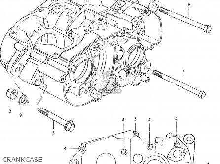 Suzuki Ts125er 1981 (x) (1 2 4 6 8 9 10 15 16 17 18 E21