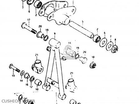Suzuki Ts125er 1982 (z) parts list partsmanual partsfiche