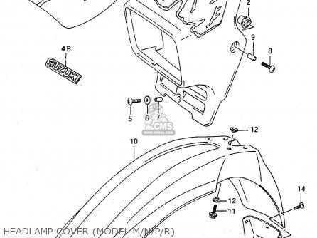 Suzuki Ts125r 1990 (l) (e02 E04 E15 E17 E18 E21 E24 E34