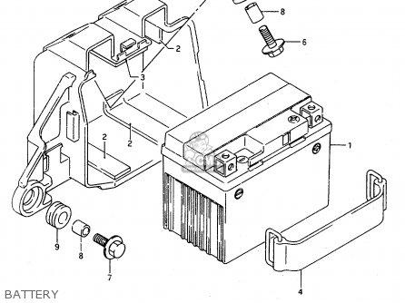 Suzuki TS125R 1991 (M) (E02 E04 E15 E17 E18 E21 E34 E53